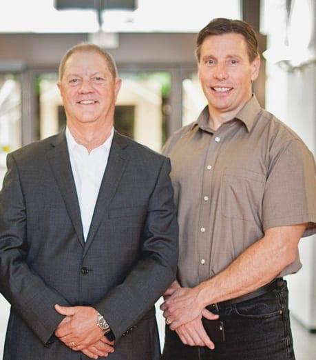 Thomas Harlan, CEO of Emergent Technologies and Dr William Hilderbrand